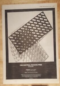 Orchestral-manoeuvres-dark-OMD-Tour-1980-press-advert-Full-page-37x-27-cm-poster
