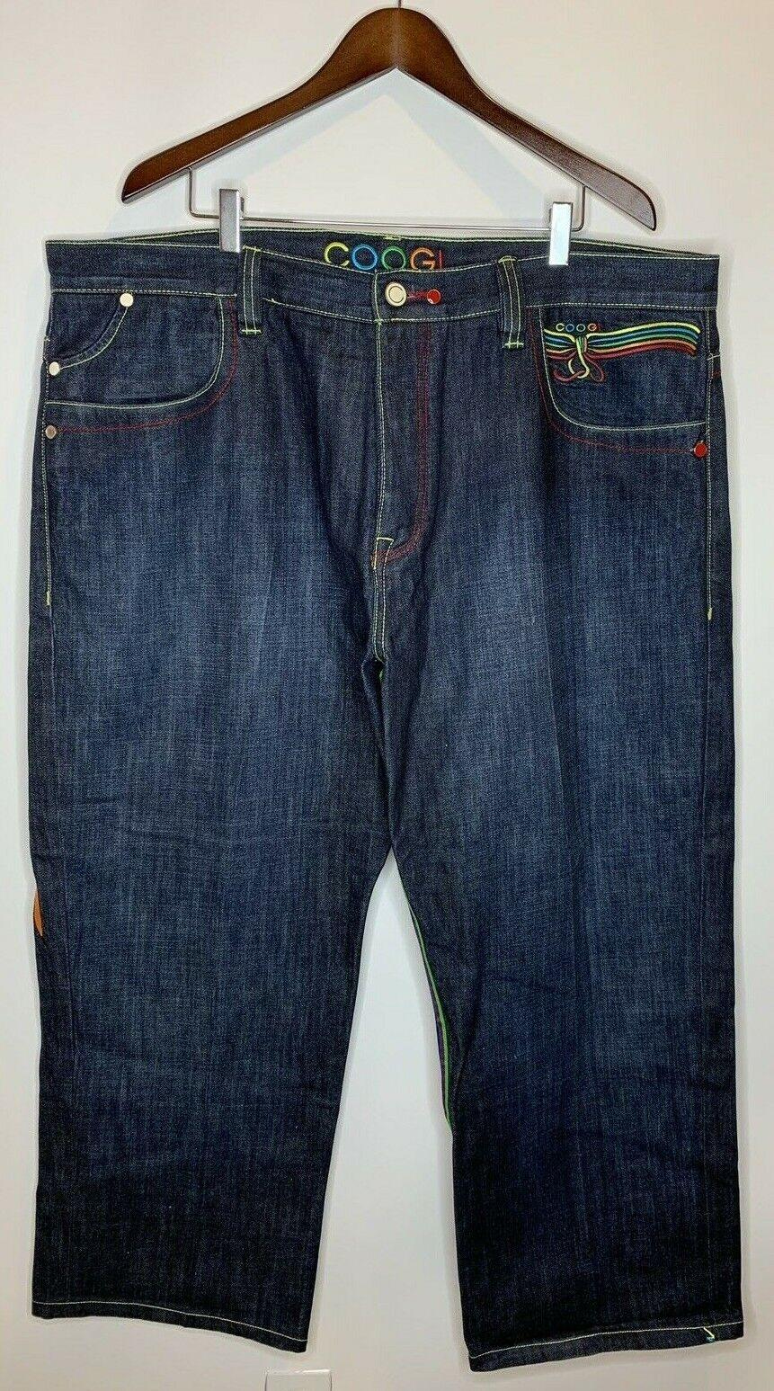 Coogi Australia Zapatillas  Para Hombre Bordado De 42 X 35 Azul Denim jeans Sueltos Holgados  en stock