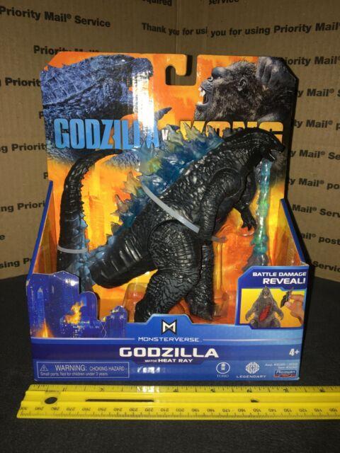 """Godzilla vs Kong 6"""" Godzilla Figure w/ Heat Ray New MonsterVerse By Playmates"""