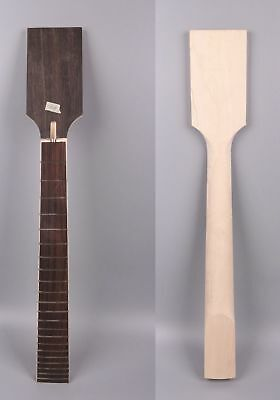 7 string electric guitar neck replacement 22 fret inch maple paddle head ebay. Black Bedroom Furniture Sets. Home Design Ideas