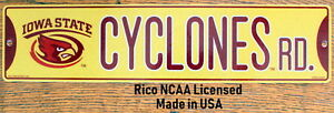 Street-Sign-Cyclones-Rd-NCAA-Lic-colorful-picture-Iowa-State-University