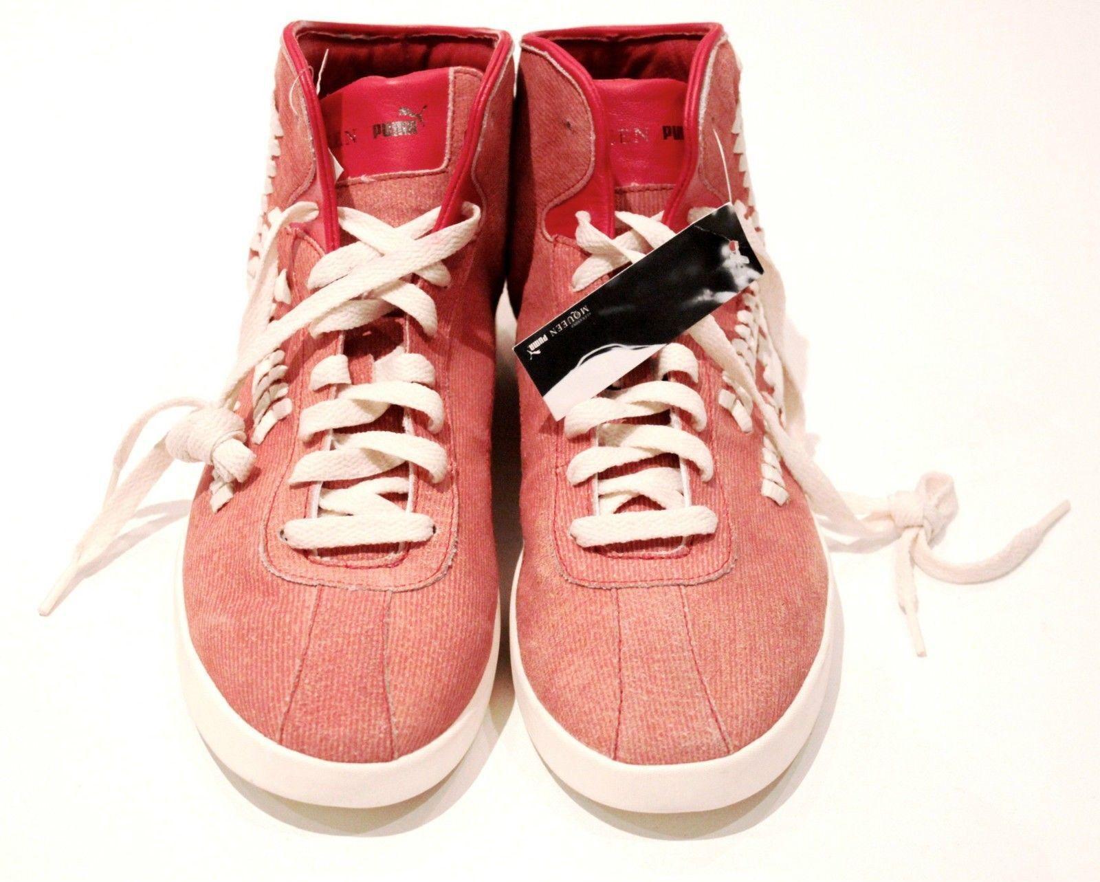 Puma by Alexander McQueen glúteo mediano Rojo Tenis Zapatos Zapatos Zapatos nórdico se desvaneció Rojo 9.5 Rara  gran descuento