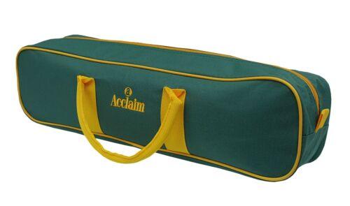 ACCLAIM 2 3 /& 4 Bowl Bag Handles 2 Colour Crown Level Flat Green Short Mat Bowls