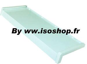 Appuis De Fenêtre Blanc Aluminium Tablette Pour Isolation Thermique