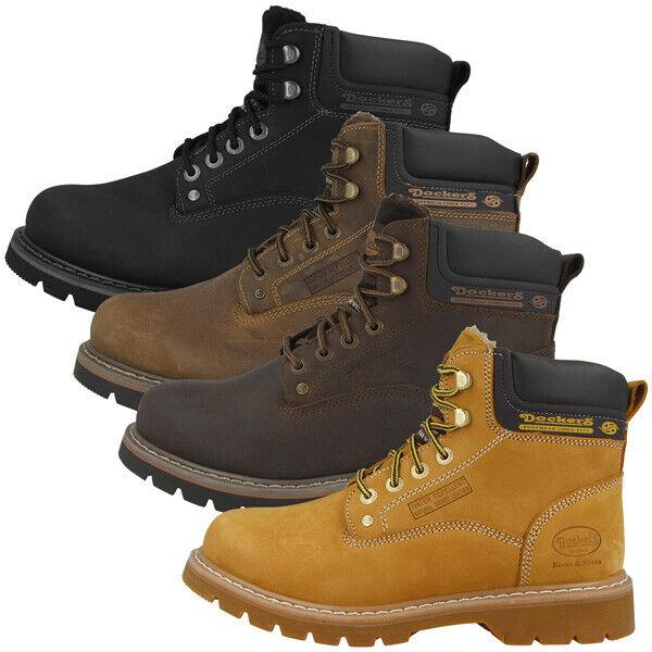 Dockers by Gerli 23da104 Chaussures Men Messieurs Boots Bottes CAFE 23da104-400320