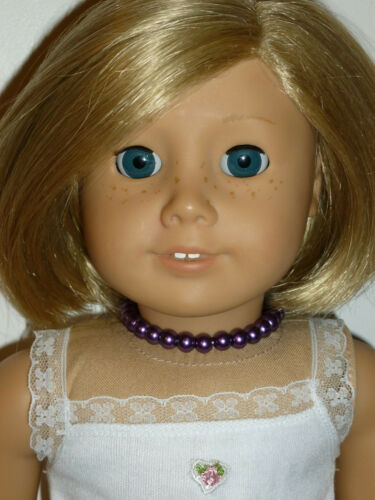 Purple Necklace Jewlery Accessories Made to Fit 18 American Girl Doll