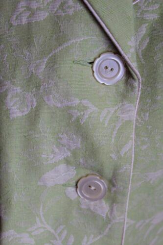 Sz Avorio Dialogue donna Soft più Green Nwt lunghe Print da Giacca cuciture con 24 Lime dwxRORnq8I