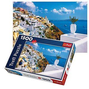 Jigsaw Puzzle 1500 Pieces : Santorini
