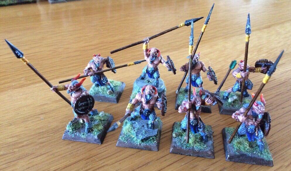 Warhammer gw miniaturen chaos beastmen minotauren pro malte menge 8 - selten