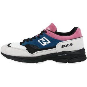 Détails sur New Balance M 1500.9 SC Chaussures Made in England Sneaker Pink Blue Black m15009sc afficher le titre d'origine
