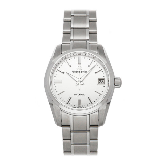 Grand Seiko Heritage Collection Auto Steel Mens Bracelet Watch Date SBGR301