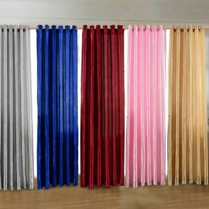 Details About Blackout Curtains Darkening Window Treatment Panel Ds Modern Door Curtain