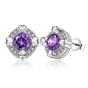 14K-White-Gold-1-50ct-Amethyst-Round-Stud-Earrings