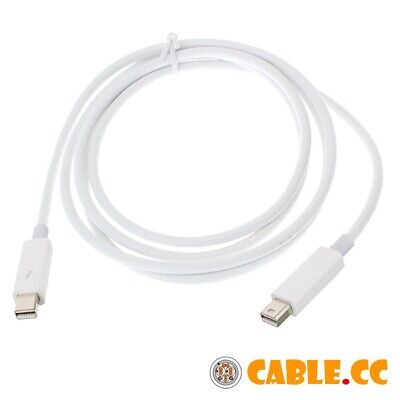 Thunderbolt Port to Thunderbolt Male to Male Video Data Cable for MacBook 2m 6ft