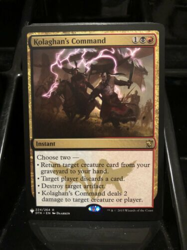 Kolaghan/'s Command Mystery Booster Pack Fresh NM//M Ships Now!