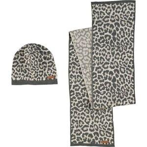 COACH Designer Luxurious Ocelot Hat And Scarf Box Set - rrp £240 ... 01d924d6b253