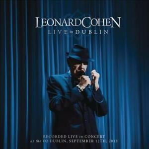 LEONARD-COHEN-LIVE-IN-DUBLIN-USED-VERY-GOOD-CD