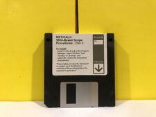 Fluke Metcal 5500 Based Scope Disk 3 Floppy Disk Software