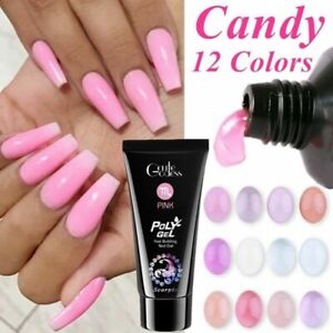 POLY-GEL-Quick-Building-Nail-Tips-Extension-Camouflage-Builder-UV-LED-Polygel