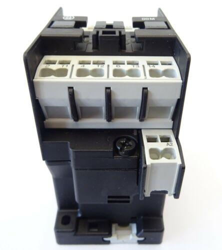 2x leistungsschütz KLÖCKNER MOELLER dil00m-10-c Protège Contactor 4 Kw 42 V 48 V