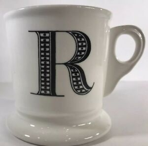 anthropologie monogram coffee mug personalized name cup initial