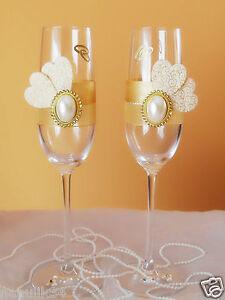 ♥Wunderschöne Hochzeitsgläser,Sektgläser ,Hochzeit Hochzeitsgeschenk