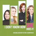 I Don't Know How She Does It by Original Soundtrack (CD, Nov-2011, Lakeshore Records)