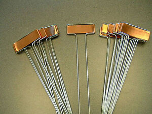 Etonnant Image Is Loading 25 COPPER PLANT MARKERS Garden Labels Stakes HEAVY