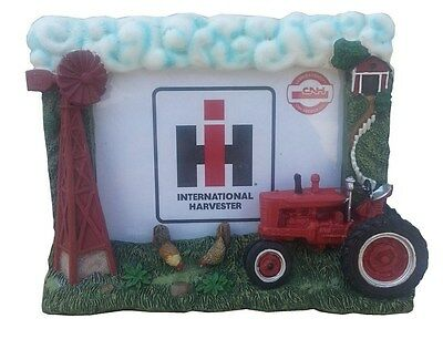 International Harvester 6x5 Inch Windmill Resin Picture Frame