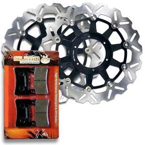 Honda-Front-Brake-Rotor-Pads-CBR-929-RR-00-01-CBR-954-RR-02-03-Fireblade