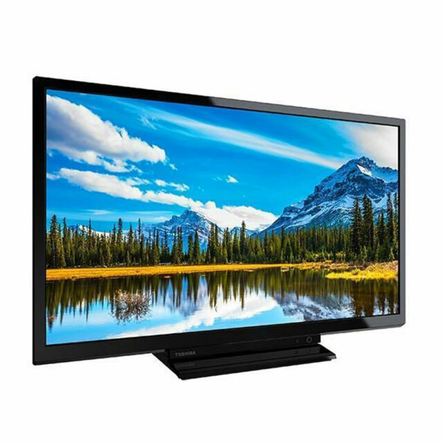 Toshiba 24W2963DB 24 Inch Smart HD Ready LED TV Freeview Play Black C Grade