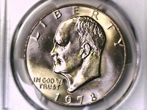 1978-D Eisenhower Dollar Ike MS65 PCGS 65 Mint State