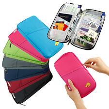 2pics Travel Accessories Passport Holder Wallet Organizer Bag Case Pouch