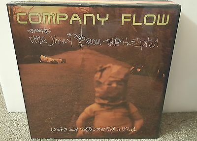 COMPANY FLOW / LITTLE JOHNNY FROM THE HOSPITUL DBL LP OG US SEALED RAWKUS EL-P