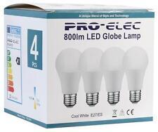 Pro Elec - PEL00179 - E27 Gls Led Bulb, 10w 4000k (4 Pack)