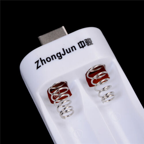 1Pcs USB Battery Charger for AA and AAA Battery 2Ports Battery Charger Nicevb