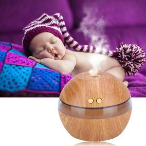 Air-Aroma-Essential-Oil-Diffuser-LED-Ultrasonic-Aromatherapy-Humidifier-Gray-NZ