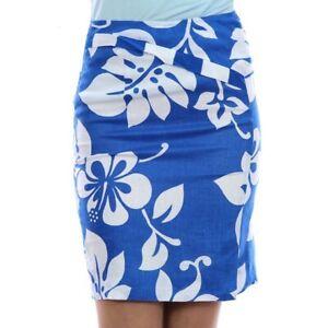 JC-de-CASTELBAJAC-Damen-Rock-Skirt-Jupe-weiss-blau-white-blue-blanc-NEU-Etikett