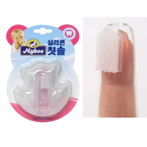 Baby Finger Toothbrush Silicon Safe Organic Safet Mybee Finger Toothbrush