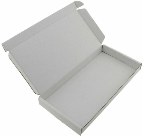 C5 A5 WHITE LARGE LETTER SIZE BOX STRONG CARDBOARD SHIPPING MAILING POSTAL PIP