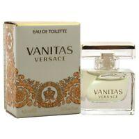 Mini Versace Vanitas By Versace 0.15 Oz Edt Perfume For Women In Box on sale