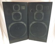 Vintage Jensen 3100 Floor Box Speaker Pair Music Studio Stereo Music Sound