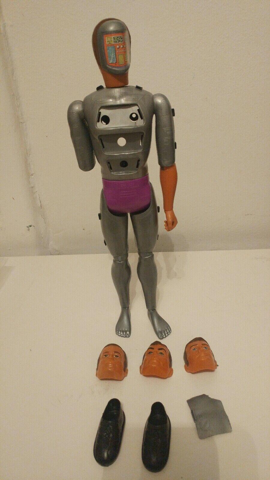 Six Million Dollar Man 1970's Kenner Steve Austin Bionic MASKATRON Action Figure