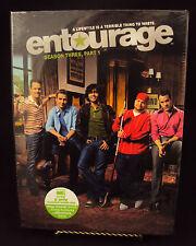 Entourage - Season 3, Part 1 (DVD, 2007, 3-Disc Set) Brand New! Free Shipping