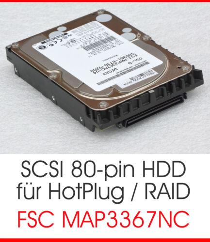 1 of 1 - 36 GB FUJITSU HARD DRIVE MAP3367NC CA06200-B13400FS CA05904-B23800SP SCSI #K3608