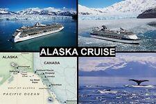 SOUVENIR FRIDGE MAGNET - CRUISE ALASKA