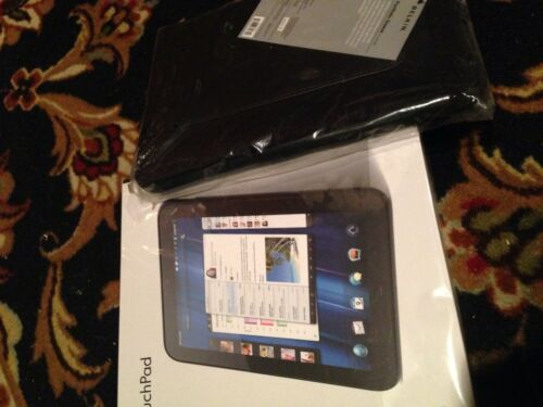 1 of 1 - Bundled Brand New Black HP TouchPad 32GB With New Belkin Tablet Sleeve