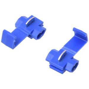 100x-Conectores-cable-bloqueo-Scotch-Azul-Terminals-Crimp-electrico-Empalme-A1I1