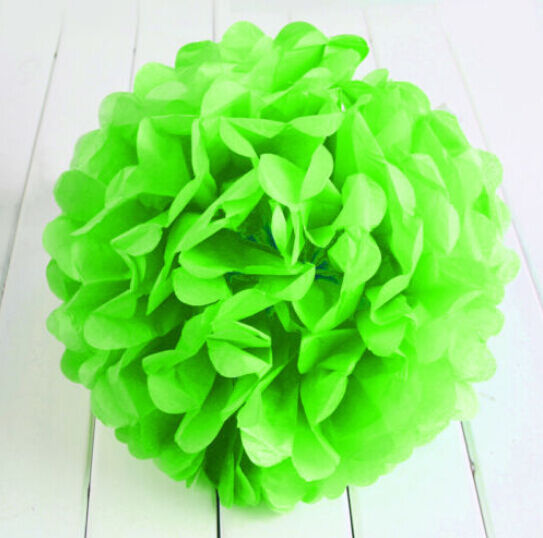 10'' Wedding Party's Home Outdoor Decoration Tissue Paper Pom Poms Flower Ball