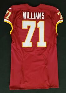 Details about #71 Trent Williams of Washington Redskins NFL Game Issued Jersey